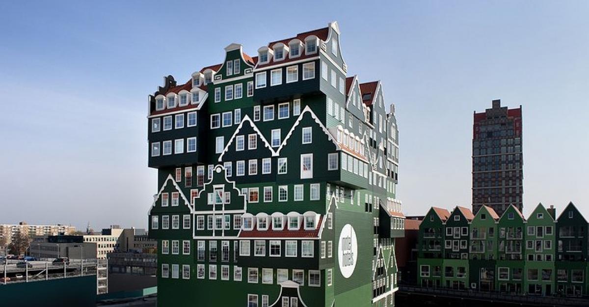 Những ngôi nhà có thiết kế kỳ quái, độc đáo trên thế giới - Ảnh 2