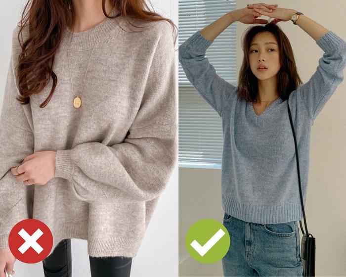 4 mẹo chọn áo len giúp vóc dáng như gầy đi 5kg - Ảnh 1