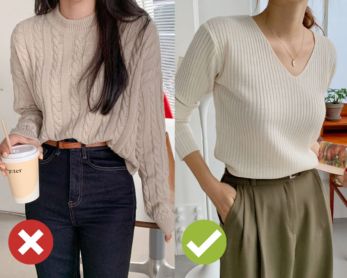 4 mẹo chọn áo len giúp vóc dáng như gầy đi 5kg - Ảnh 3