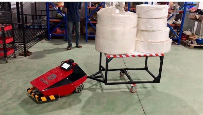 Xe tự hành AGV Perbot vận chuyển hàng trong kho Uniduc sản xuất có những đặc điểm gì? - Ảnh 2