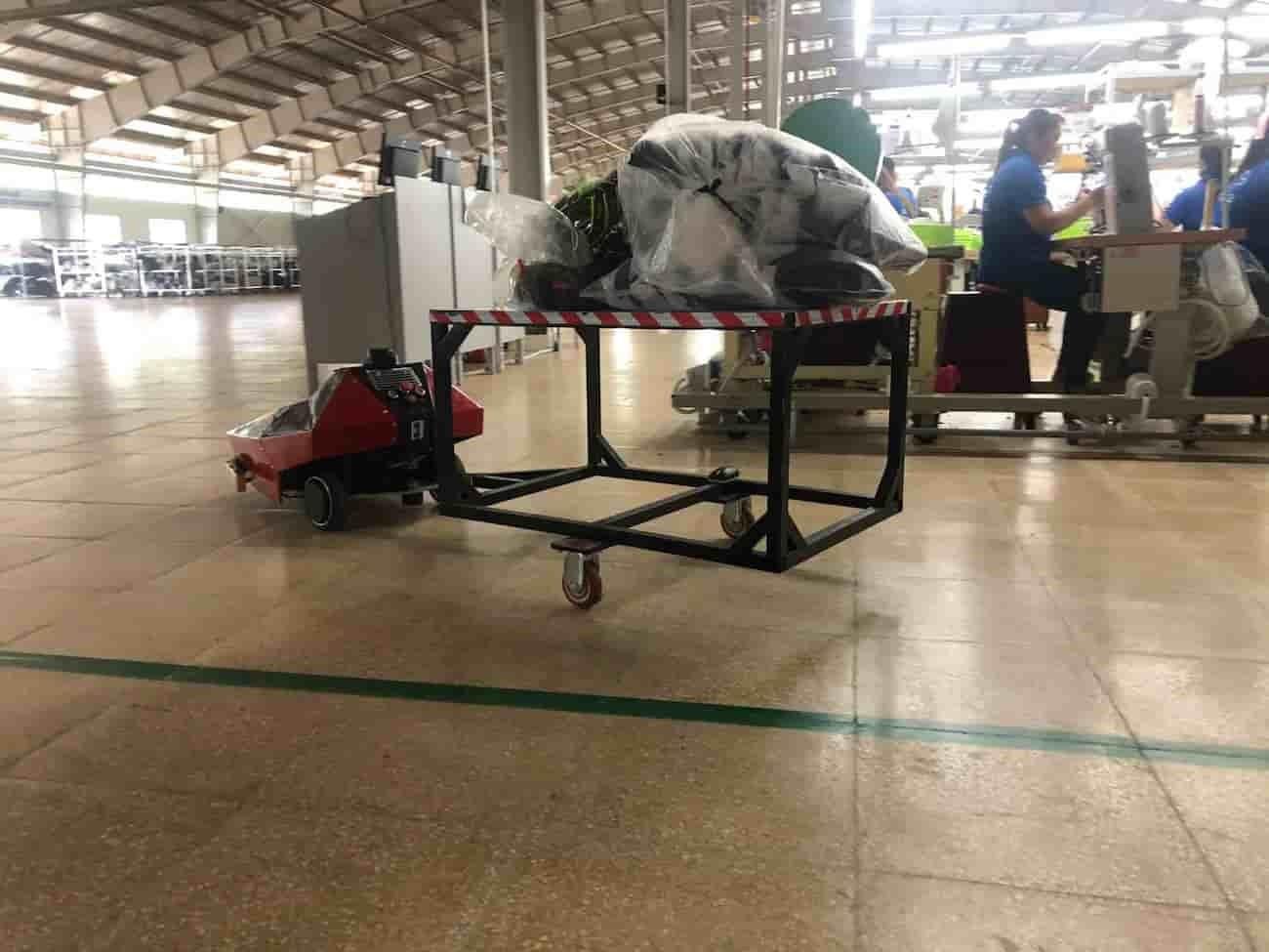 Xe tự hành AGV Perbot vận chuyển hàng trong kho Uniduc sản xuất có những đặc điểm gì? - Ảnh 3