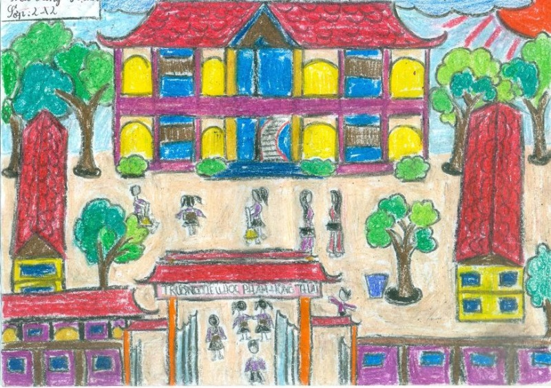 Tranh vẽ ngày Nhà giáo Việt Nam 20-11