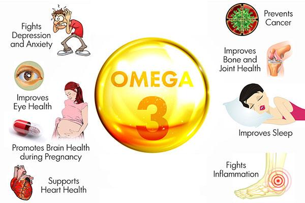 Những điều cần biết về tác dụng của Omega 3 cho sức khỏe của bạn - Ảnh 2