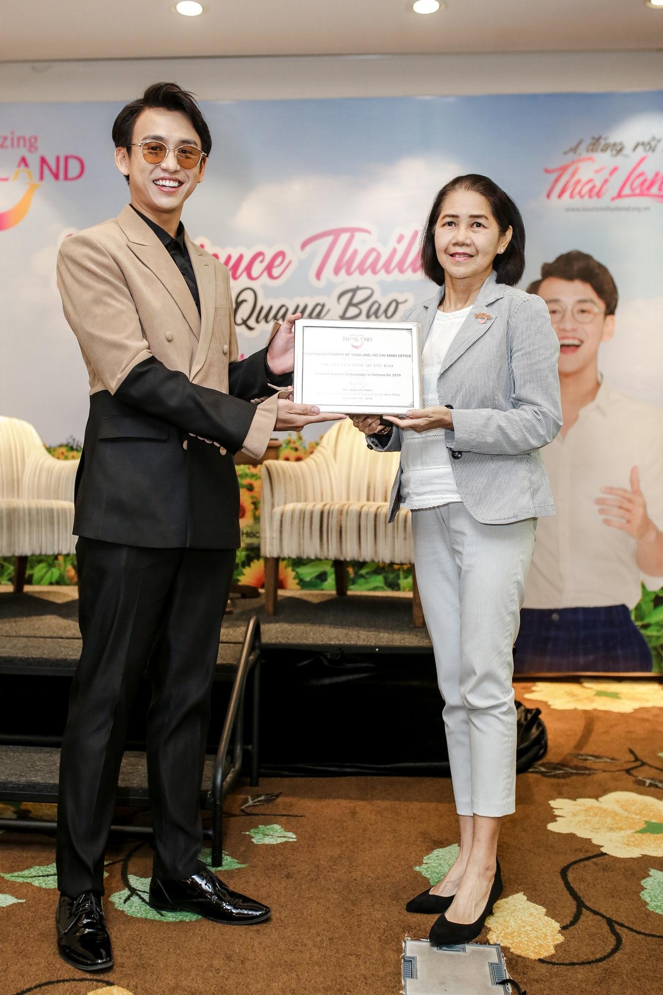MC Quang Bảo tự hào là người kết nối giữa hai nền văn hóa Việt Nam và Thái Lan - Ảnh 2