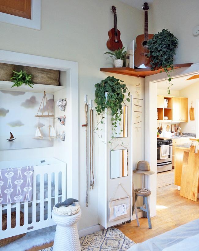Ngôi nhà mang phong cách cottage nhỏ nhưng ấm cúng.