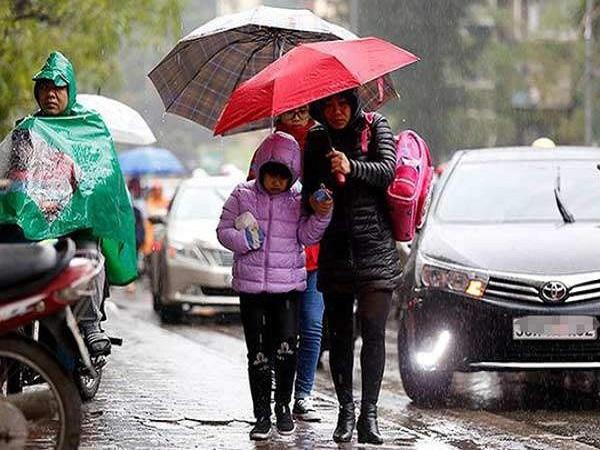 Dự báo thời tiết ngày 23/12: Bắc Bộ mưa rét, có nơi dưới 16 độ C - Ảnh 1
