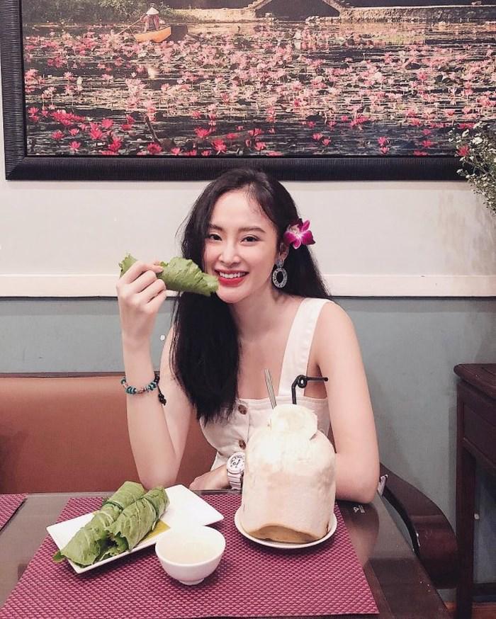 'Bà mẹ nhí' Angela Phương Trinh 'nghiện' ăn chay để giữ thân hình 'bốc lửa' - Ảnh 10