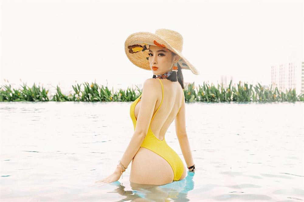 'Bà mẹ nhí' Angela Phương Trinh 'nghiện' ăn chay để giữ thân hình 'bốc lửa' - Ảnh 2