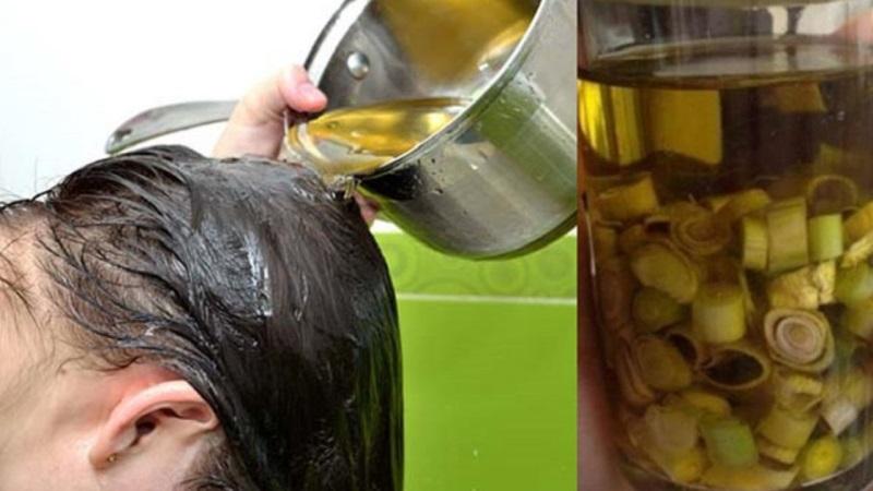 Cách trị gàu ống bằng dầu oliu và sả