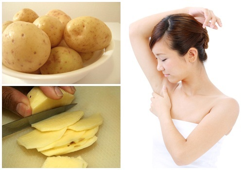 Trị nách thâm đen và hết hẳn mùi hôi sau vài phút nhờ sử dụng khoai tây đúng cách - Ảnh 1