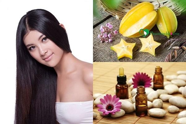 Kết hợp tinh dầu và khế giúp chữa rụng tóc hiệu quả