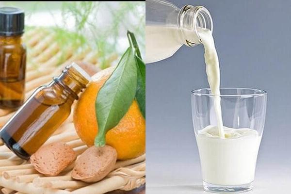 Công hiệu với cách chữa rụng tóc bằng vỏ bưởi và sữa tươi