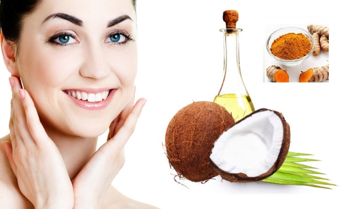 Làn da trẻ đẹp và không còn sẹo lồi nếu như bạn kiên trì thực hiện trị sẹo lồi bằng dầu dừa hoặc nghệ.