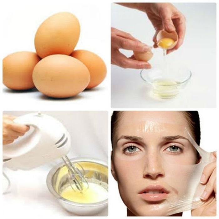 Cách trị sẹo lõm lâu năm bằng phương pháp tự nhiên từ lòng trắng trứng