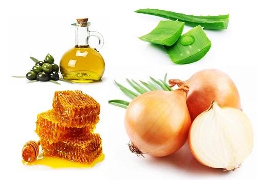 Kết hợp sáp ong, nha đam và hành tây điều trị sẹo thâm hiệu quả