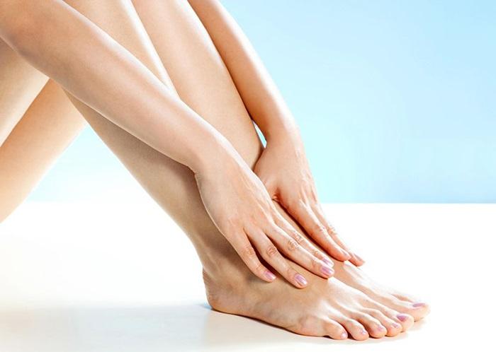 Kiên trì điều trị để có đôi chân đẹp.