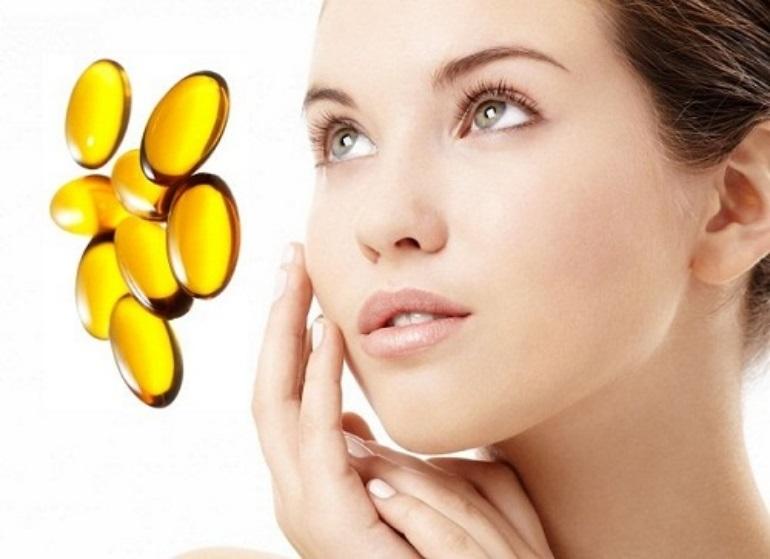 Cách trị sẹo thâm tại nhà bằng vitamin E