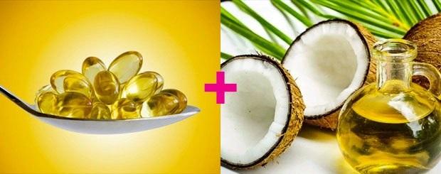 Mẹo trị thâm nách bằng vitamin E và dầu dừa giúp đánh bay làn da thâm dưới cánh tay