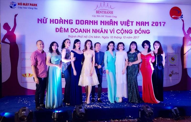 Trịnh Kim Chi lấn át dàn thí sinh Nữ hoàng Doanh nhân Việt Nam