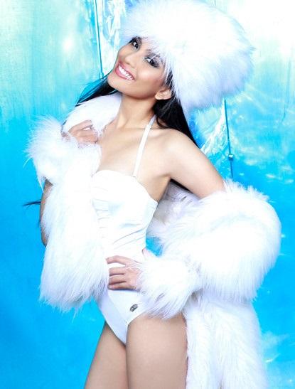 Những nàng da nâu mặc bikini chuẩn Tây của showbiz Việt - Ảnh 5