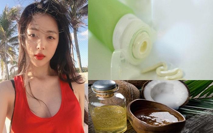 Tự làm kem chống nắng cho da mặt từ dầu dừa giúp bảo vệ da toàn diện.