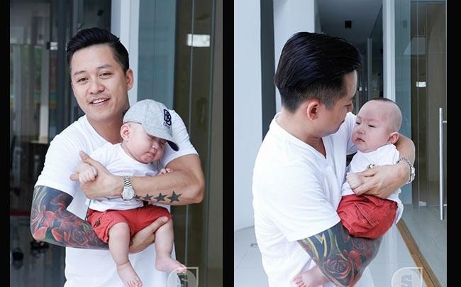 Những 'ông bố quốc dân' vừa đẹp trai vừa giỏi kiếm tiền của showbiz Việt - Ảnh 8