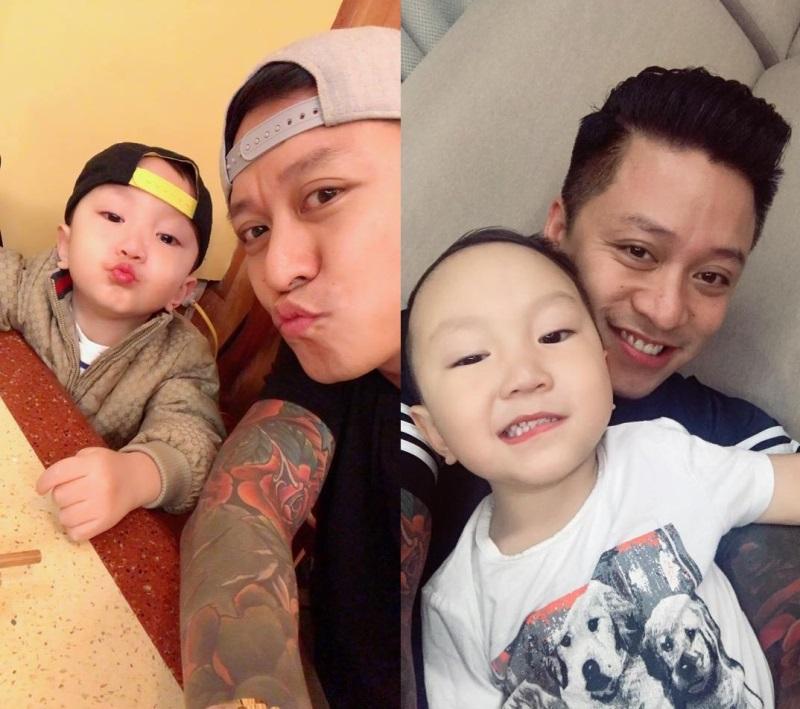 Những 'ông bố quốc dân' vừa đẹp trai vừa giỏi kiếm tiền của showbiz Việt - Ảnh 12