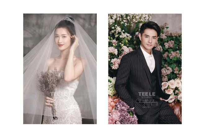 Đông Nhi diện 'sương sương' 10 mẫu váy cưới trong đám cưới thế kỷ với Ông Cao Thắng - Ảnh 7