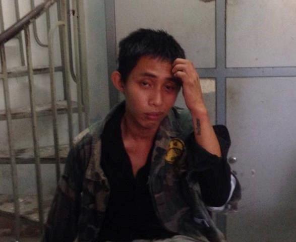 Cảnh sát truy đuổi 120 km bắt thanh niên ngáo đá cướp taxi - Ảnh 1