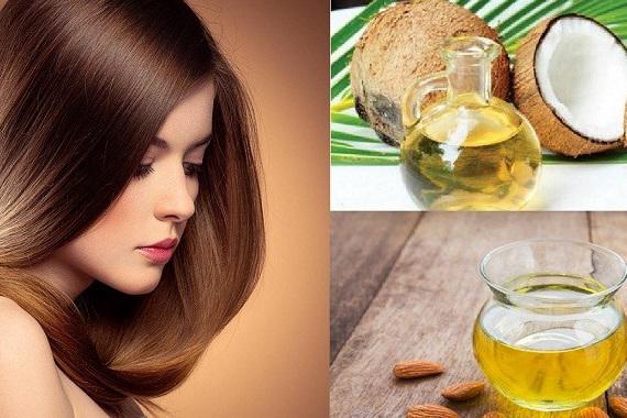 Dưỡng tóc với dầu dừa giúp tóc vào nếp, bóng mượt hơn