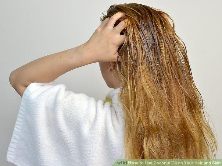 Cách ủ tóc bằng dầu dừa mỗi ngày