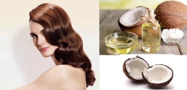 Lợi ích của ủ tóc bằng dầu dừa qua đêm
