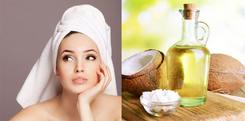 Ủ tóc bằng dầu dừa qua đêm nuôi dưỡng tóc khỏe mạnh từ sâu bên trong