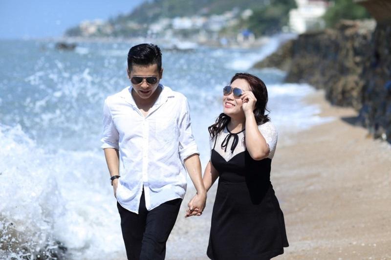 Ảnh cưới đầy lãng mạn của diễn viên Hoàng Anh và vợ Việt Kiều - Ảnh 3