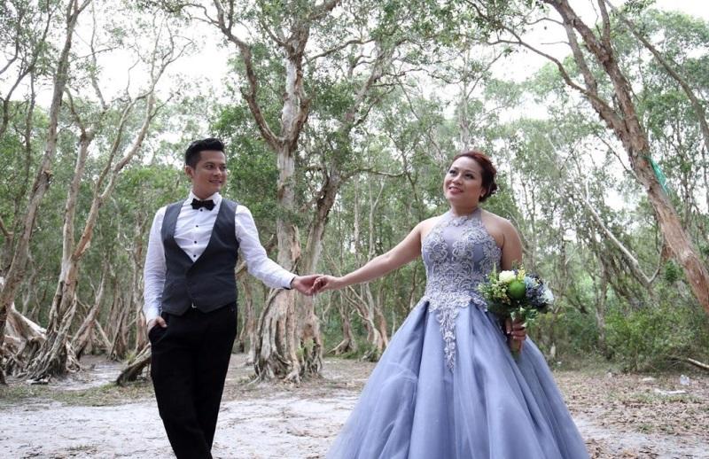 Ảnh cưới đầy lãng mạn của diễn viên Hoàng Anh và vợ Việt Kiều - Ảnh 4