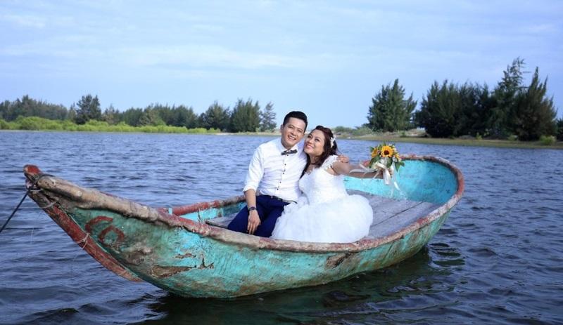 Ảnh cưới đầy lãng mạn của diễn viên Hoàng Anh và vợ Việt Kiều - Ảnh 5