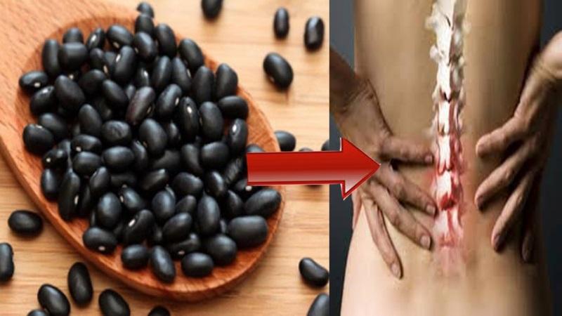 Uống nước đậu đen rang chữa được bệnh đau nhức xương.