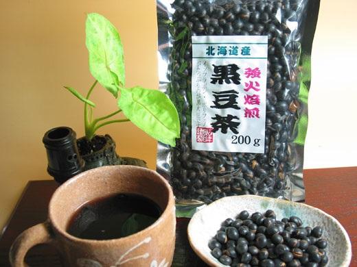 Trà làm từ đậu đen rang ở Nhật