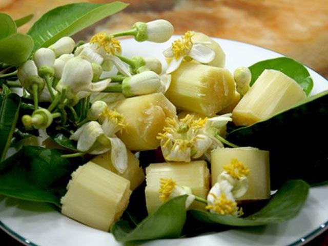 Cách làm mía ướp hoa bưởi - món ngon mê hoặc ngay từ miếng đầu - Ảnh 1