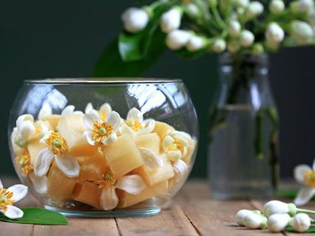 Cách làm mía ướp hoa bưởi - món ngon mê hoặc ngay từ miếng đầu - Ảnh 2