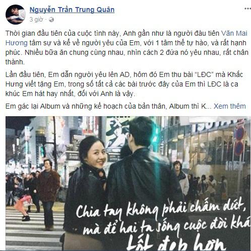 Chuyện tình buồn của Văn Mai Hương trở thành đề tài 'nóng' của hàng loạt sao Việt - Ảnh 3