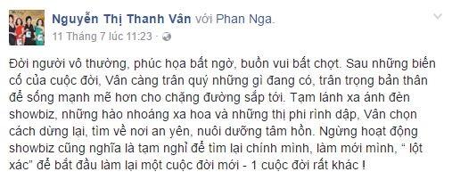 Hé lộ lý do thực sự khiến 'nữ hoàng dao kéo' Phi Thanh Vân rời showbiz - Ảnh 1