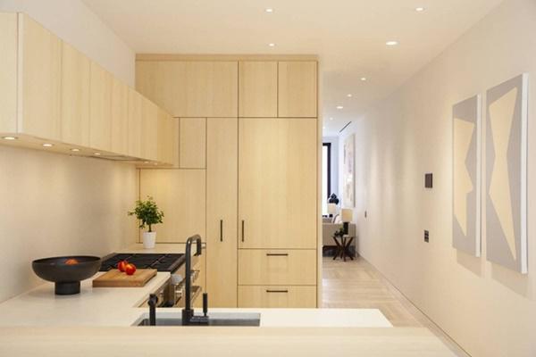 Phòng rộng nhất trong căn nhà chỉ có chiều ngang là 3m nhưng cả căn nhà vẫn được
