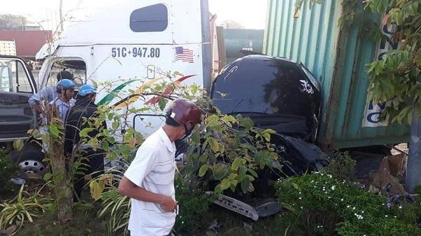 Tai nạn kinh hoàng ở Tây Ninh, nhiều người tử vong trên QL22 - Ảnh 1