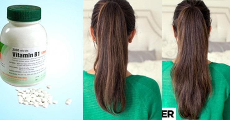 Vitamin B1 giúp tóc mọc nhanh, dày và dài hơn