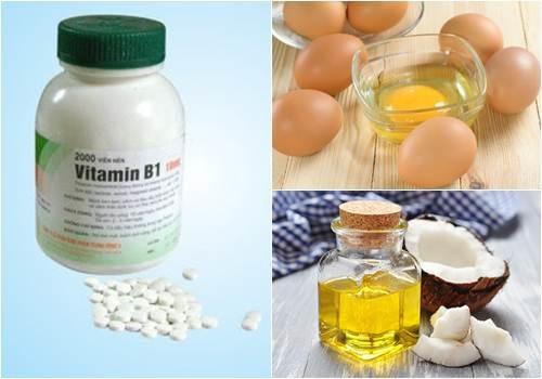 Làm trắng da với vitamin b1