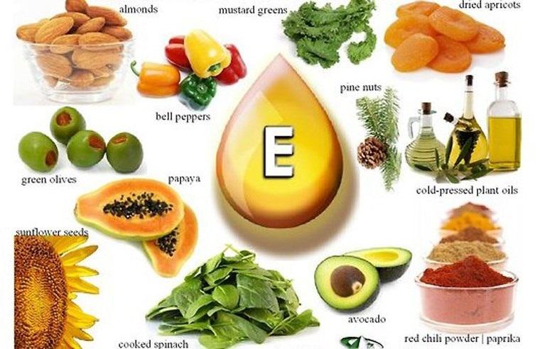 Ăn uống thực phẩm giàu vitamin E giúp mọc tóc nhanh chóng