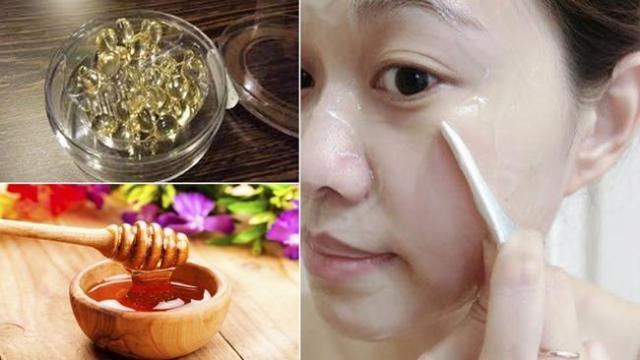 Trị thâm quầng mắt hiệu quả bằng vitamin E và mật ong