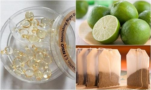 Dưỡng trắng da, trị mụn với cách làm đẹp bằng Vitamin E