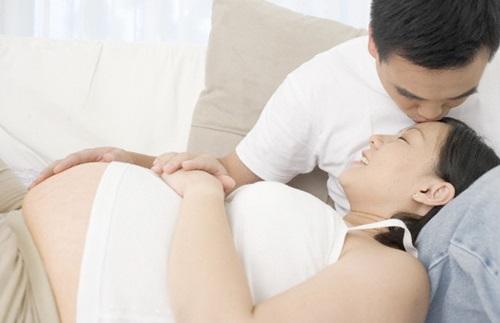 vợ bầu mang thai